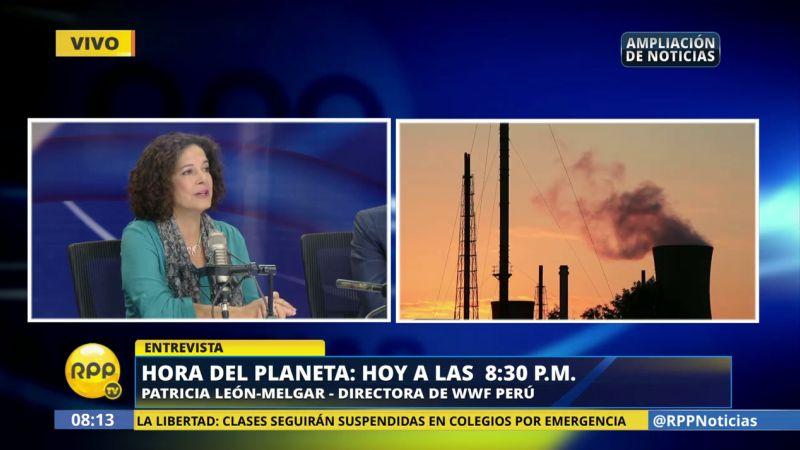 Patricia León-Melgar consideró que se debe reforestar las riberas de los ríos, ya que la vegetación mitiga el efecto de los desbordes.