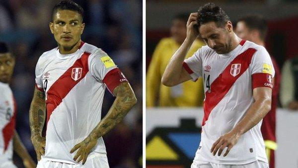 Paolo Guerrero y Claudio Pizarro