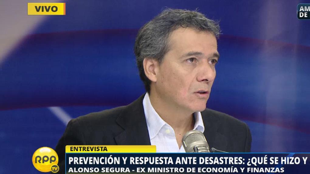 Segura aseguró que el gobierno anterior dejó partidas en los principales ministerios para que éstos pudiesen atender emergencias ante un desastre natural.