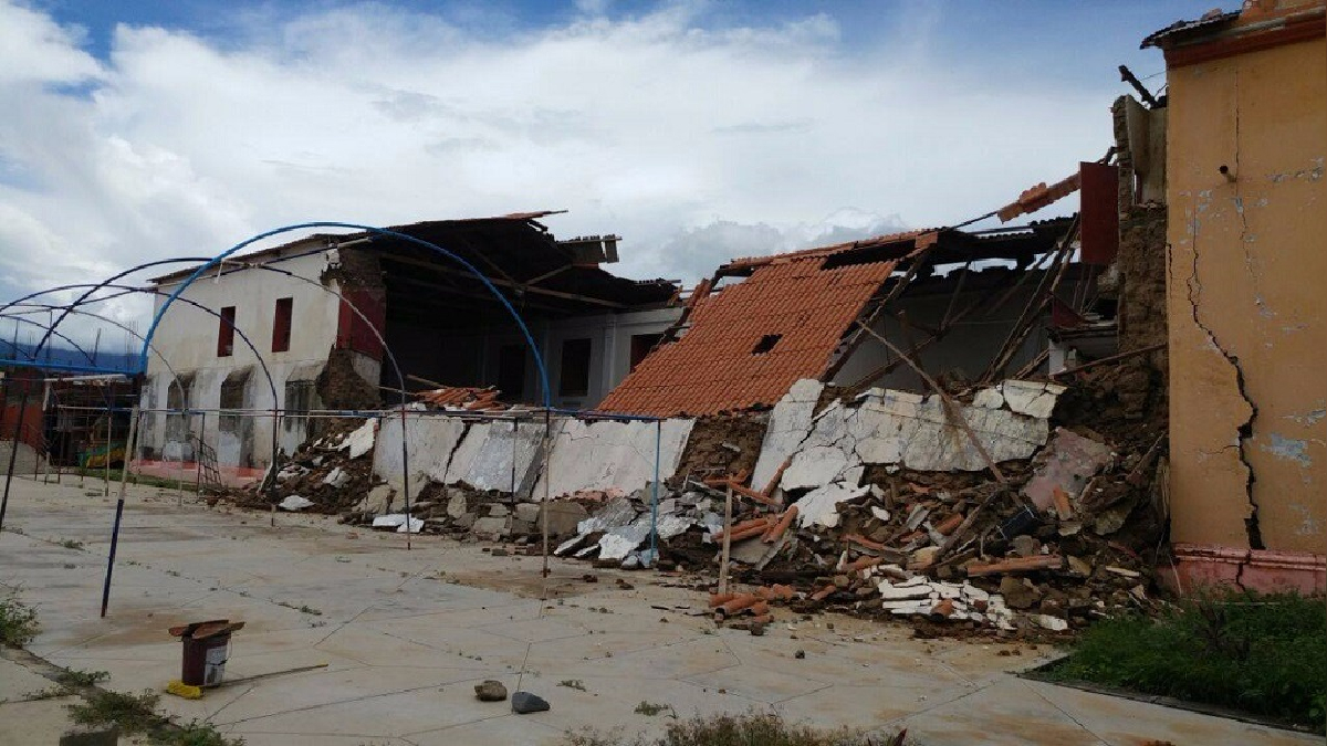La infraestructura de una de las parroquias más antiguas de Lambayeque se desplomó media hora antes de la misa habitual.