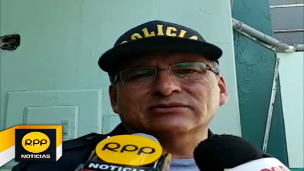 Jefe policial pide calma