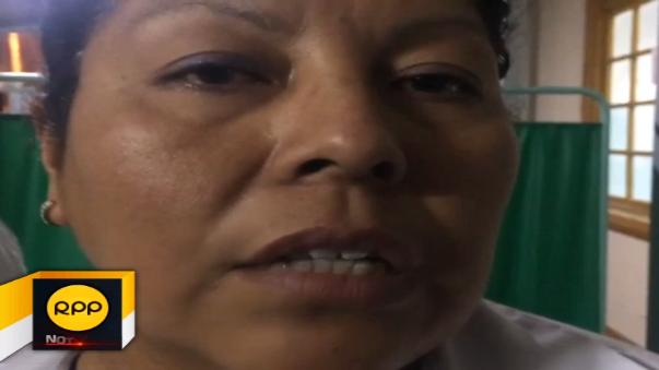Doctora Janet Astudillo informó sobre recuperación de pasajeros.