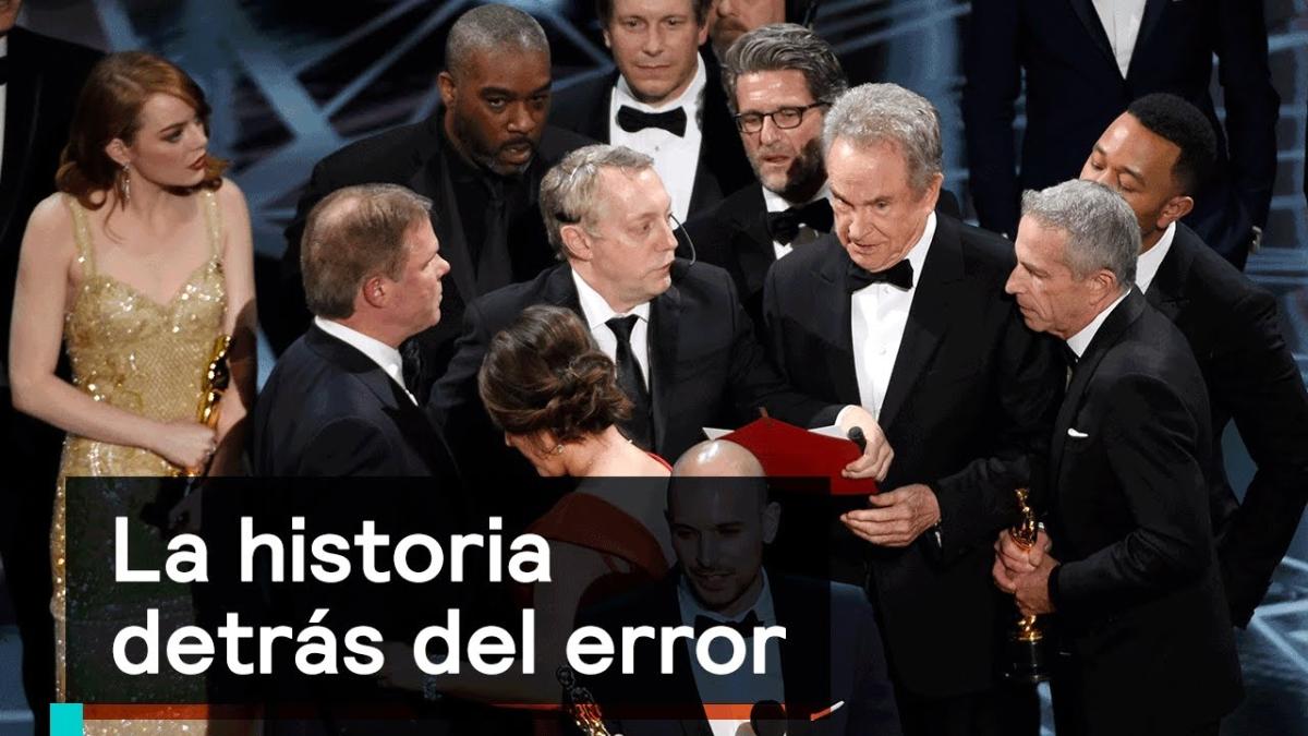 La historia detrás del histórico error de los premios Oscar