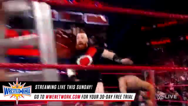 Sheamus se lesiona gravemente con un corte en la frente
