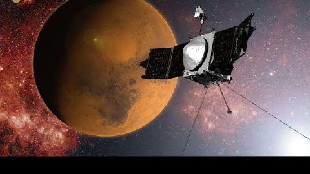 La información procedente de la sonda espacial Maven, de la NASA, es la que ha permitido conocer los cambios de la atmósfera marciana.