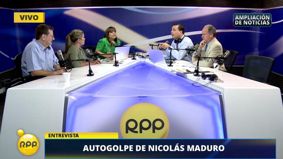 El debate entre los periodistas de RPP se dio durante Ampliación de Noticias.