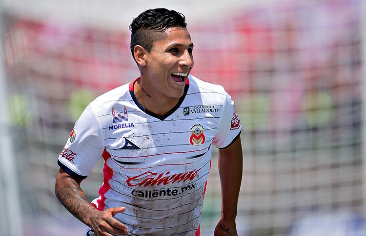 Revive el gol de Raúl Ruidíaz en la práctica del Morelia.