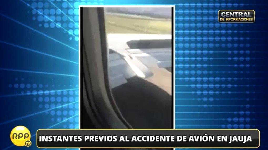 El avión de Peruvian Airlines se accidentó el pasado 28 de marzo.
