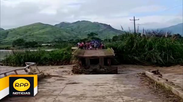 Un helicóptero trasladó cuatro toneladas de alimentos para atender a dos caseríos de Olmos.