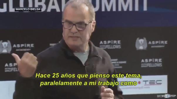 Marcelo Bielsa reveló el proyecto que tiene para Newell's Old Boys.
