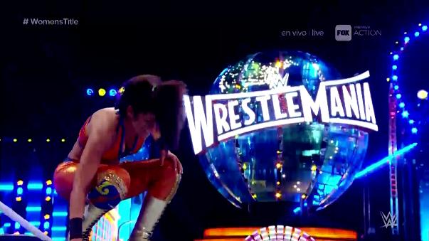 Bayley ganó con una brillante maniobra que patento Shawn Michaels.