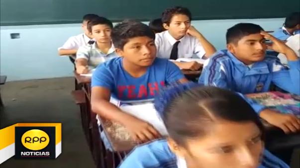 En un 90% de colegios de la provincia de Chiclayo se reiniciaron las clases hoy lunes.