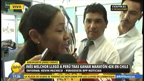 Inés Melchor habló para RPP Noticias luego de triunfar en Chile.