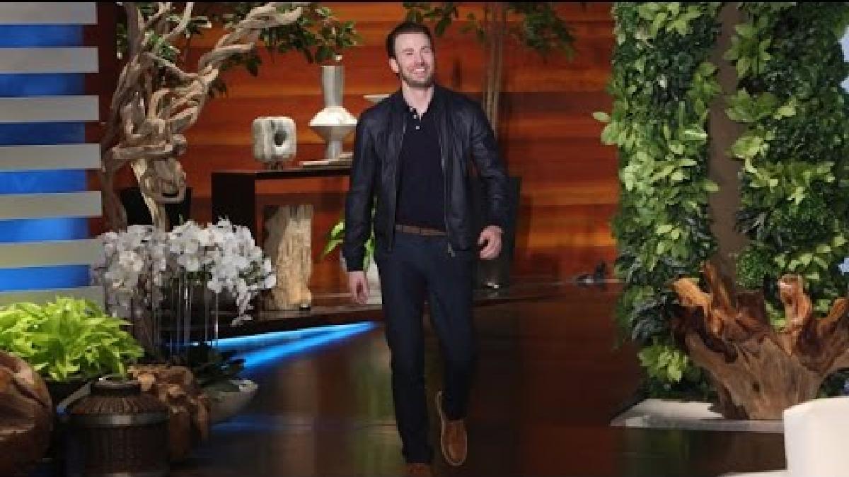 El actor estuvo en el programa The Ellen DeGeneres Show.