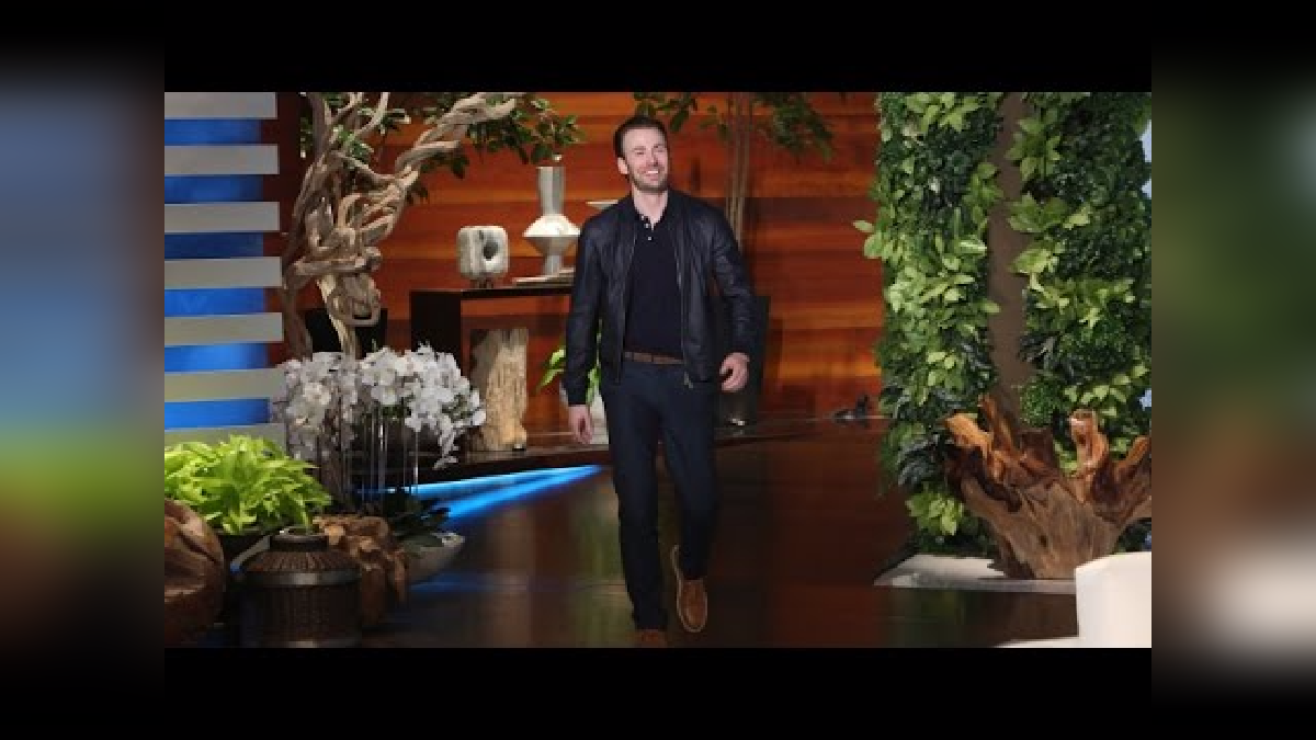 Chris también pasó por el show de Ellen DeGeneres, donde deslizó la opción de no volver a ser el Capitán América.