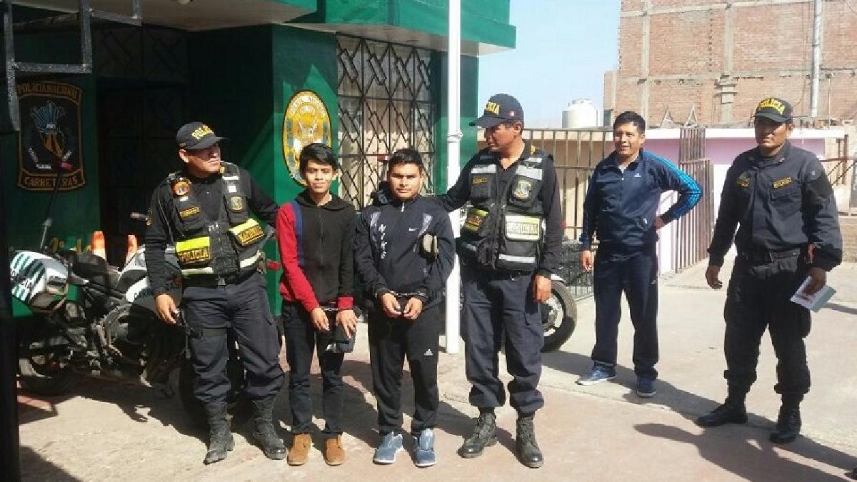 Los detenidos y las unidades fueron trasladadas a la Divandro Arequipa.
