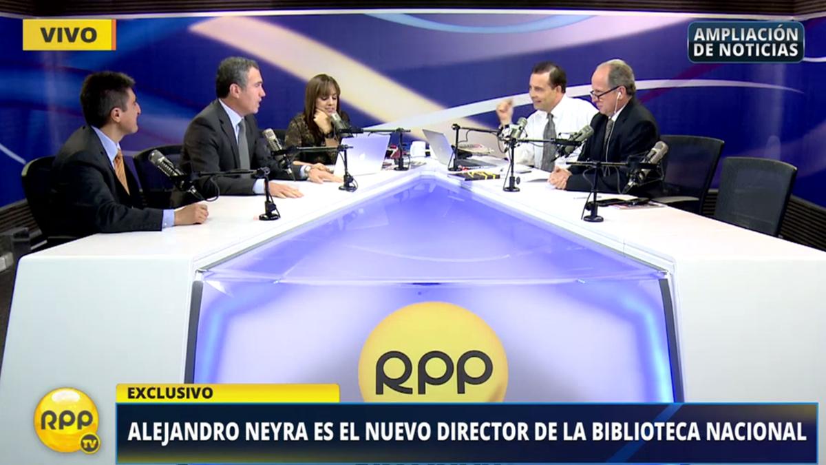 Así fue el debate entre Del Solar y Mariátegui en RPP Noticias.