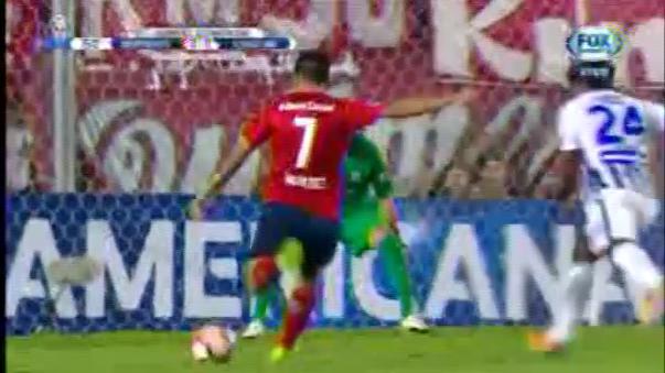 Leao Butrón fue la figura del partido entre Alianza Lima e Independiente.