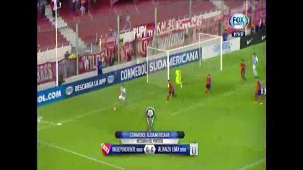 Alianza Lima empató 0-0 con Independiente en el Libertadores de América.