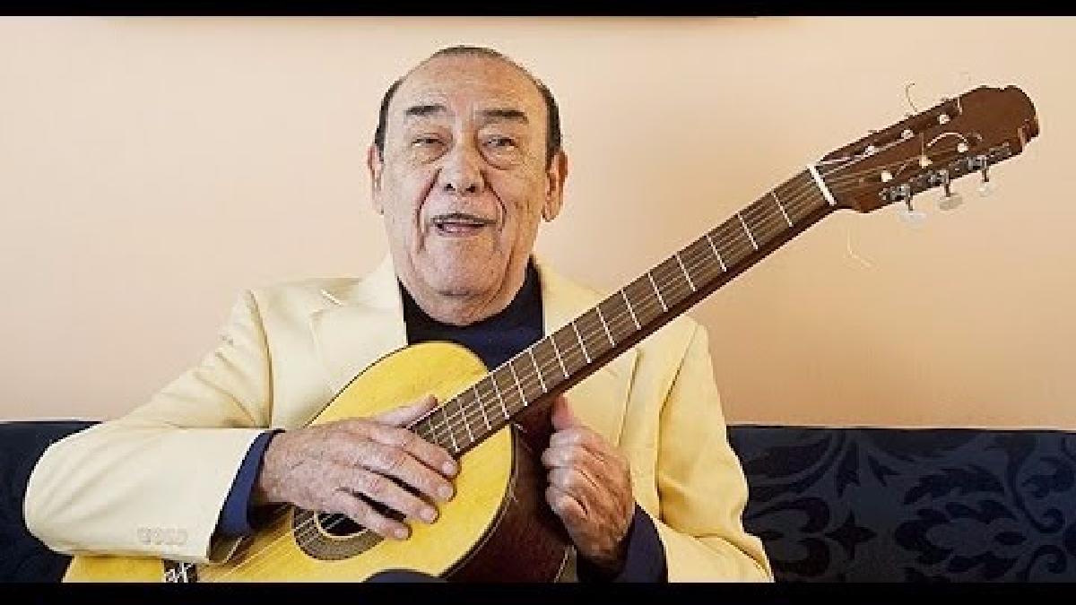 Cuando llora mi guitarra - Los Morochucos y la primera guitarra Óscar Avilés