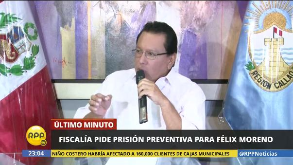 La Fiscalía ha pedido prisión preventiva para Moreno.