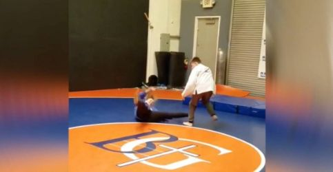 Ronda Rousey no 'pudo' en la pelea de judo con este niño.
