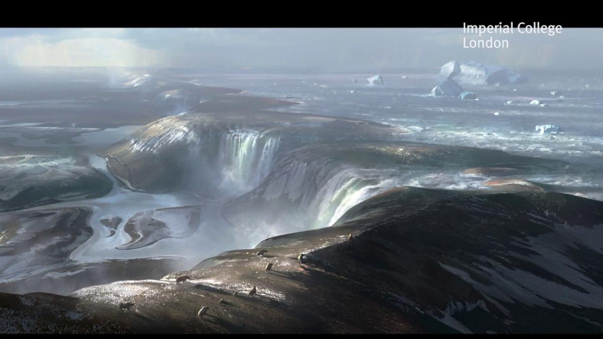 Los análisis del equipo del Imperial College, en colaboración con otros colegas europeos, coinciden con un modelo que constata que el desbordamiento del lago glacial hace unos 450.000 años provocó una primera fase de erosión.