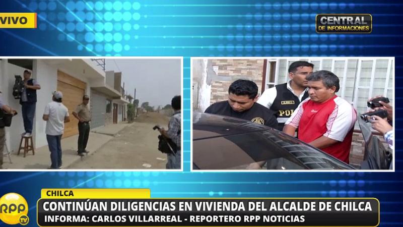 Alcalde de Chilca sería integrante de la red criminal denominada