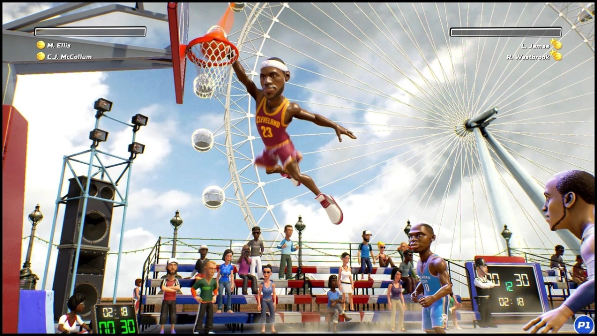 NBA Playgrounds estará disponible en PC, PlayStation 4, Xbox One y Nintendo Switch.