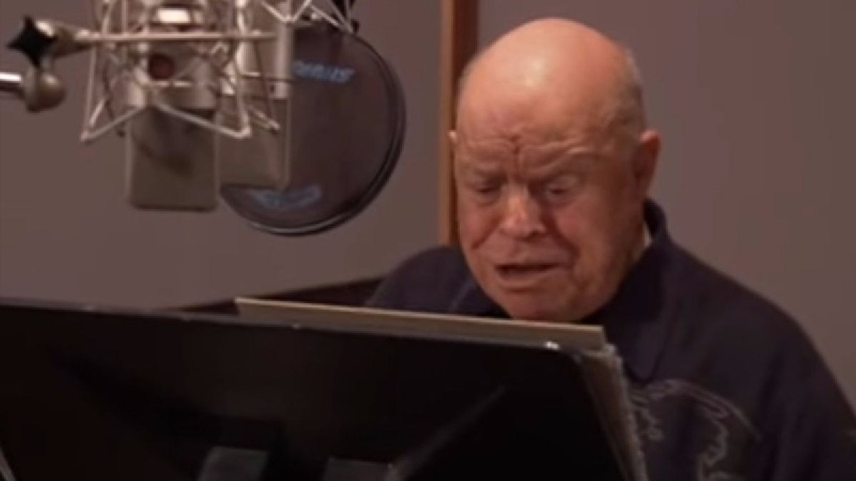 Don Rickles prestando su voz a Mr. Potato en 'Toy Story 3'