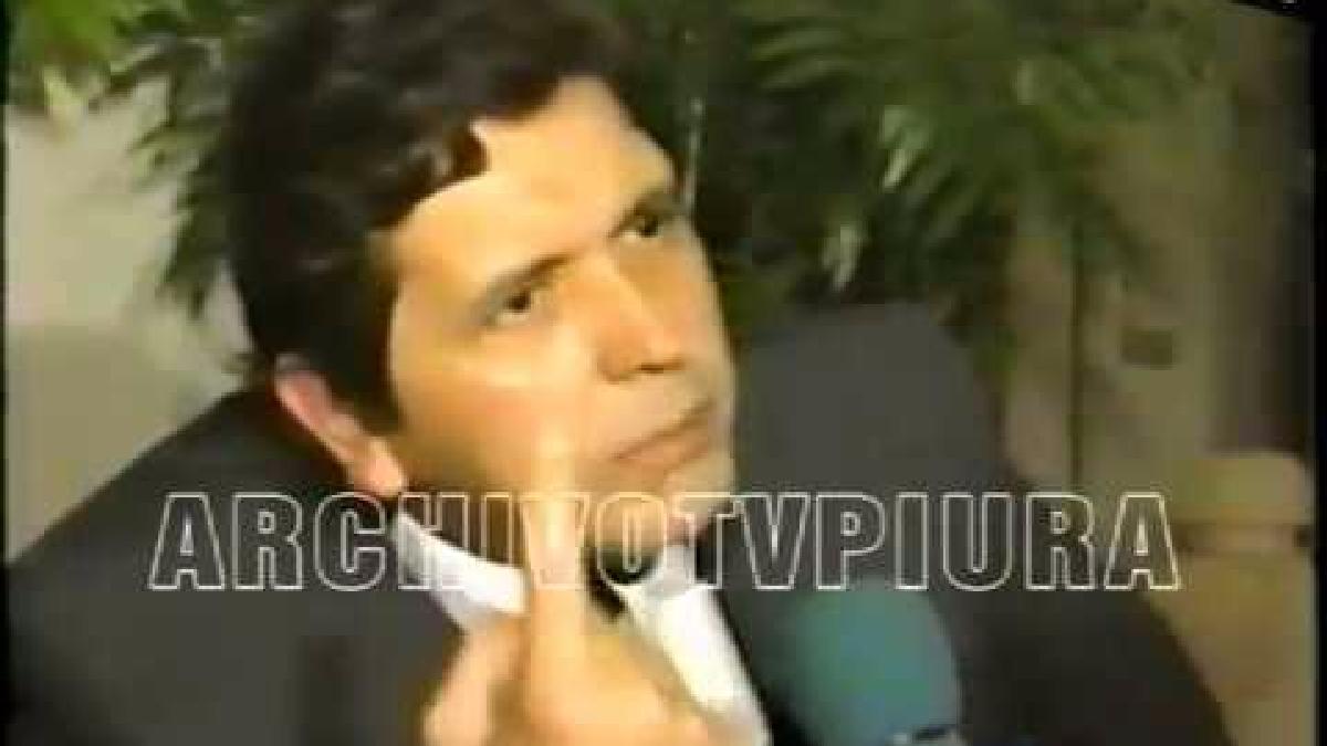 Esta es la entrevista que Alan García brindó a la Televisión Española desde la clandestinidad.