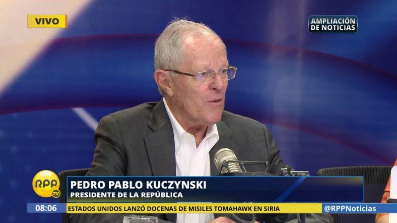 PPK desestimó que la reconstrucción nacional vaya a costar 15 mil millones de dólares.