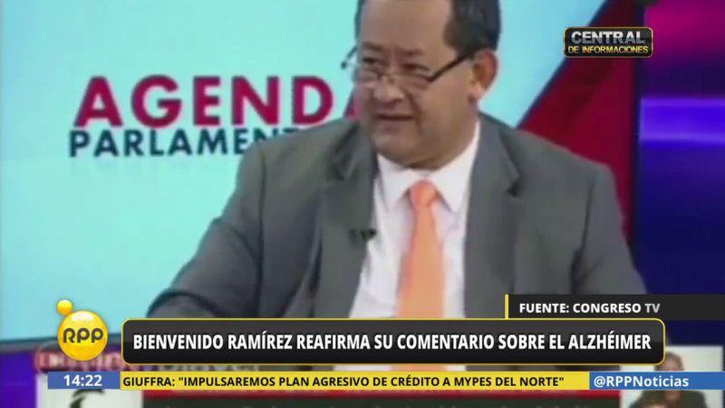En una entrevista tras la polémica, Ramírez se reafirmó en su versión.