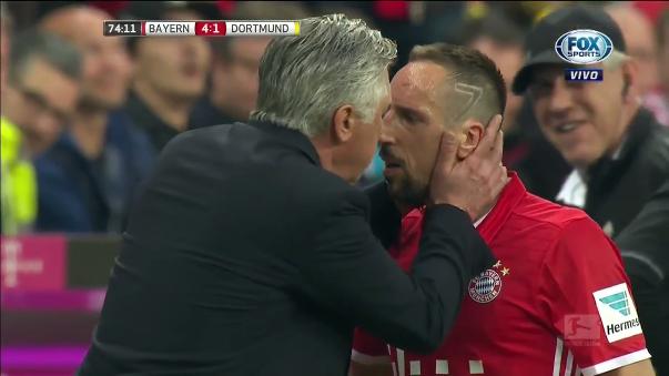 El 11 de junio de 2016, Ancelotti fue presentado oficialmente como entrenador del Bayern de Múnich.