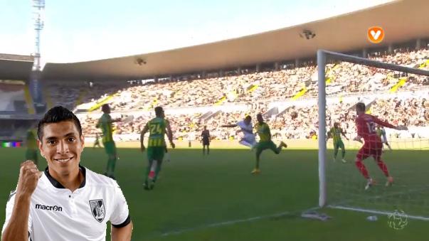 Paolo Hurtado tiene 4 goles en la liga portuguesa.