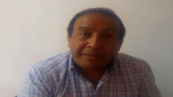 Carlos Mondragón presidente de la Cámara de Comercio de Cajamarca.