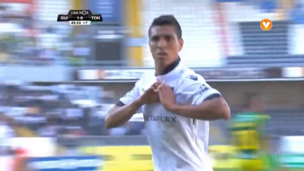 Paolo Hurtado cambió la trayectoria del balón y anotó el 2-0 parcial.