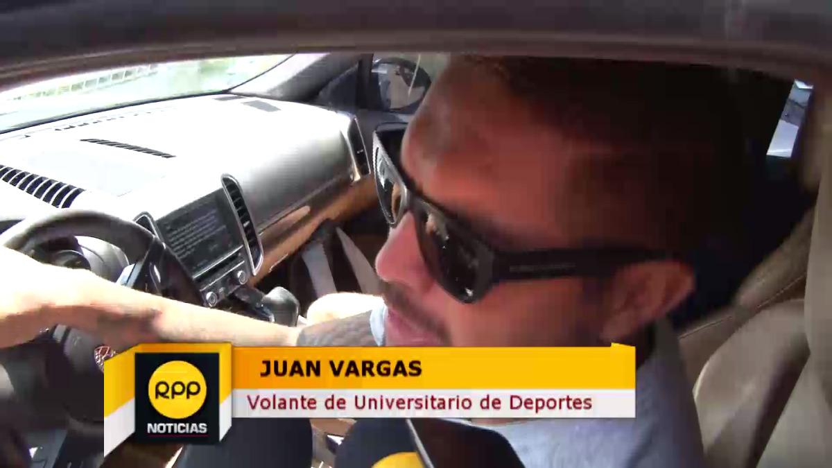 Juan Vargas comentó que está tratando de salir de una lesión.