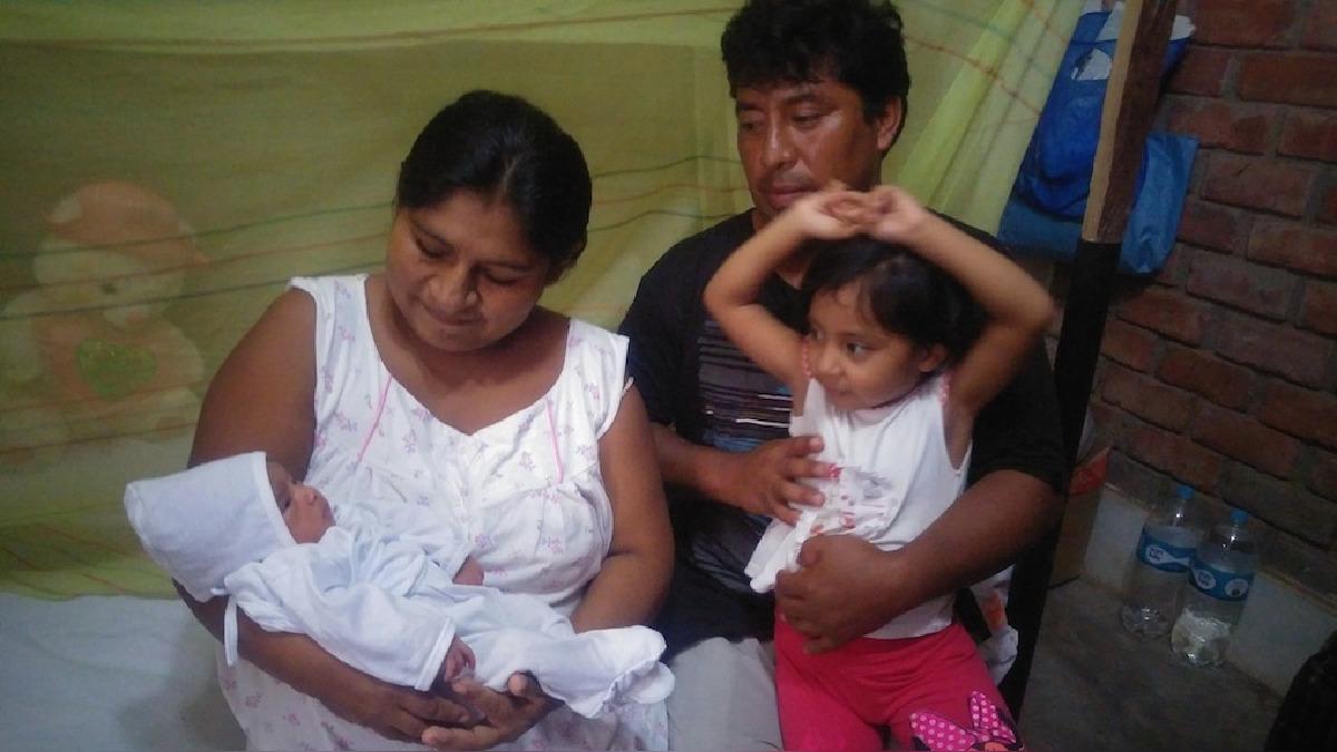 Familia permanece en el refugio desde el 28 de marzo, un día después del desborde del río Piura.