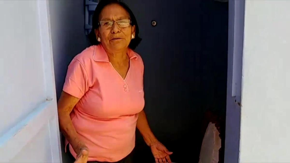 Doña Martha Winer es pobladora de José Leonardo Ortiz, en Chiclayo; ella nos cuenta su pesar por no poder contar con servicios de saneamiento básicos.