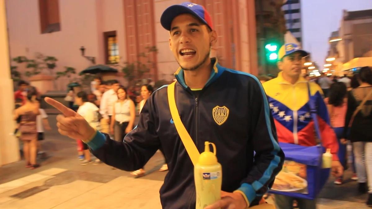 Historias y testimonios de  venezolanos que han hallado en las arepas una manera de salir adelante en el Perú.