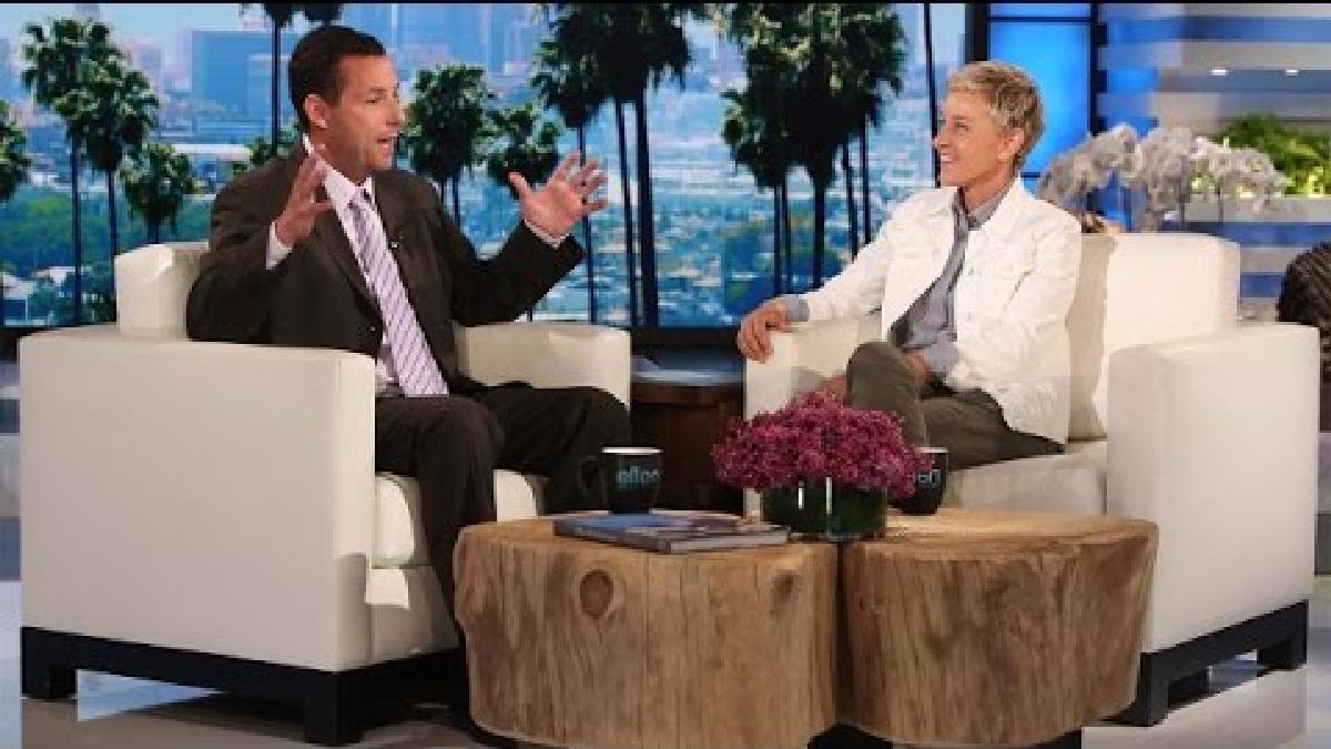 El actor estuvo charlando con Ellen DeGeneres