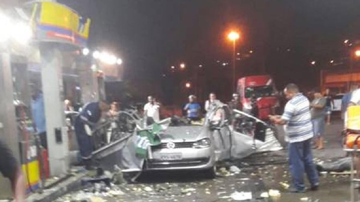 Explosión en gasolinera de Brasil deja un muerto y tres heridos.