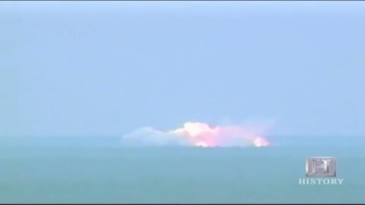 El poder destructivo de la bomba en acción durante una de sus pruebas.