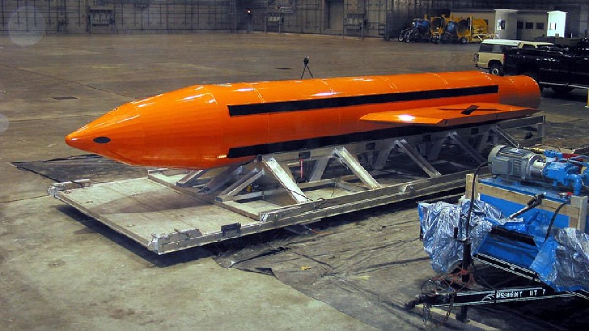 Un video muestra la bomba no nuclear más poderosa.