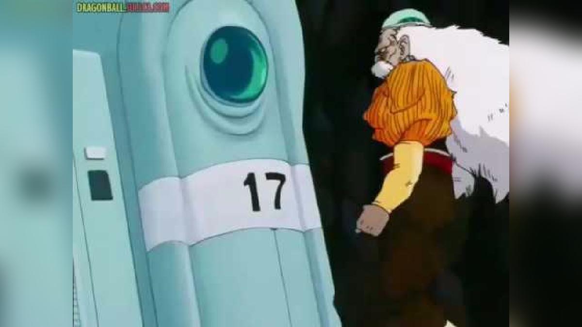 Esta fue la primera aparición del androide en la serie, junto a su hermana.