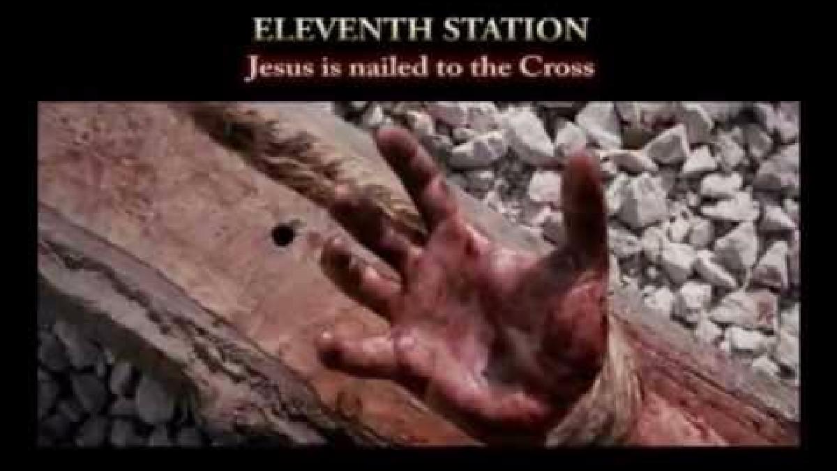 Imagen de Jesús en la cruz.