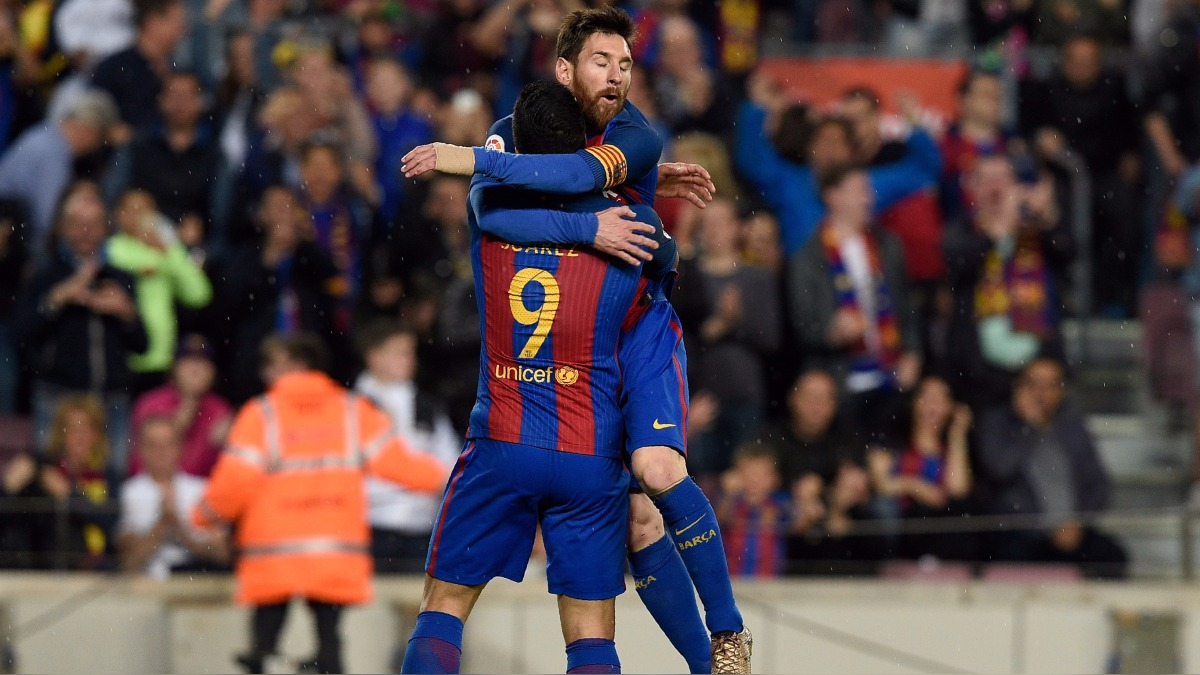 Revisa todos los goles del vibrante partido entre Barcelona y Real Sociedad.