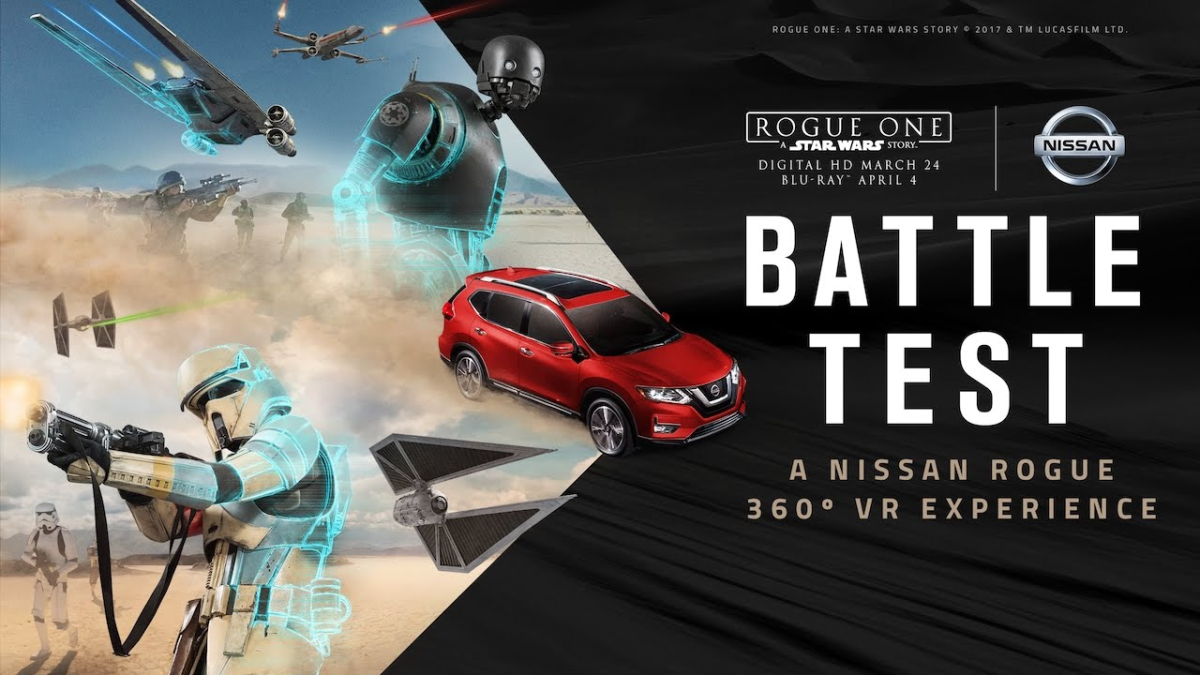 Mira el tráiler interactivo del Rogue One Star Wars Limited Edition, de Nissan.