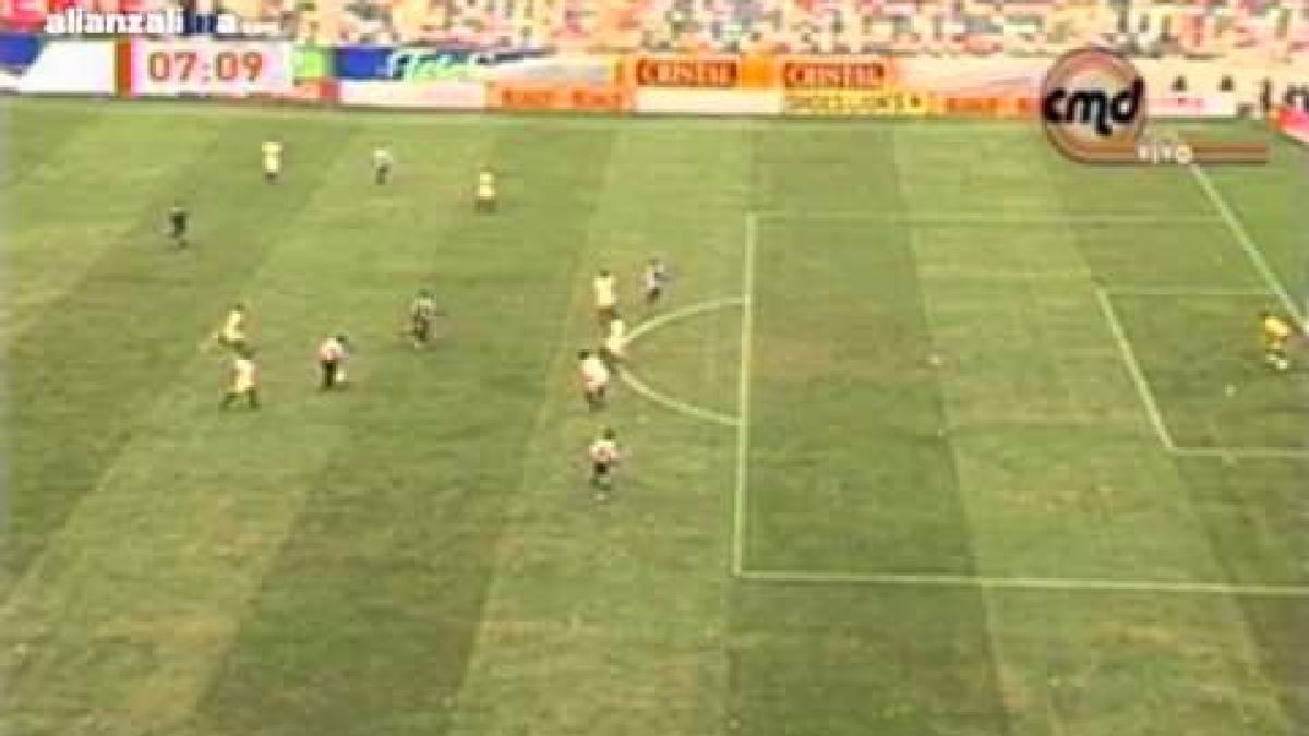 Alianza Lima ganó por 2-1 a Universitario en 2008.